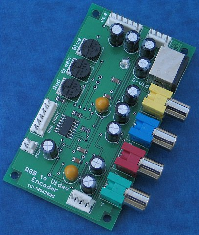 RGB to Video & Component Encoder Topside
